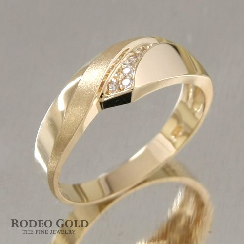 Gold engagement rings TCR57946