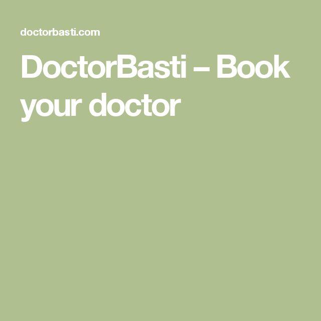 DoctorBasti – Book your doctor