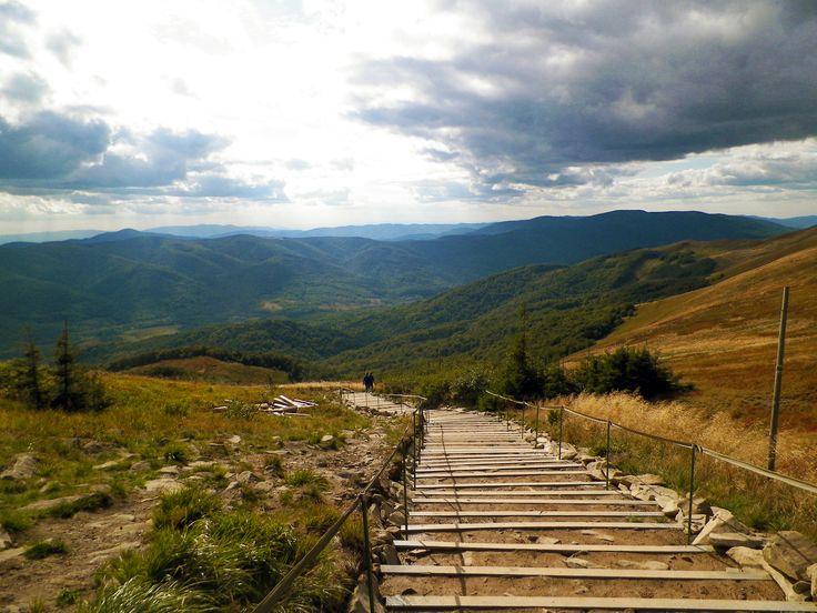 Zejście z Tarnicy #Bieszczady #Mountain #Tarnica
