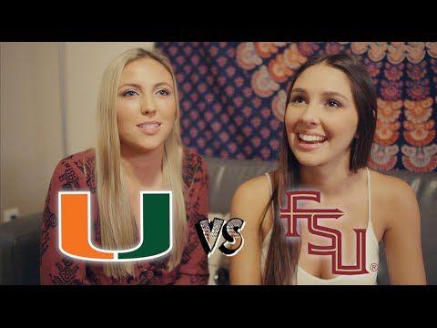 Florida State University Students VS. University of Miami Students : Riv...
