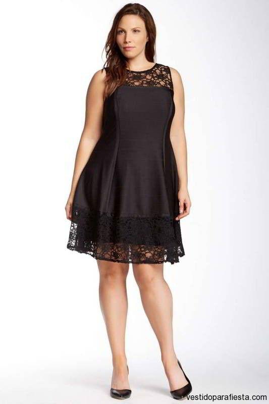 Vestidos sencillos color negro
