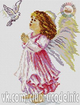 cross stitch patterns free download as pdf file with angel