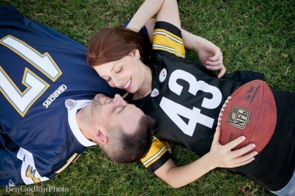 Football Engagement Photos - The Celebration Society