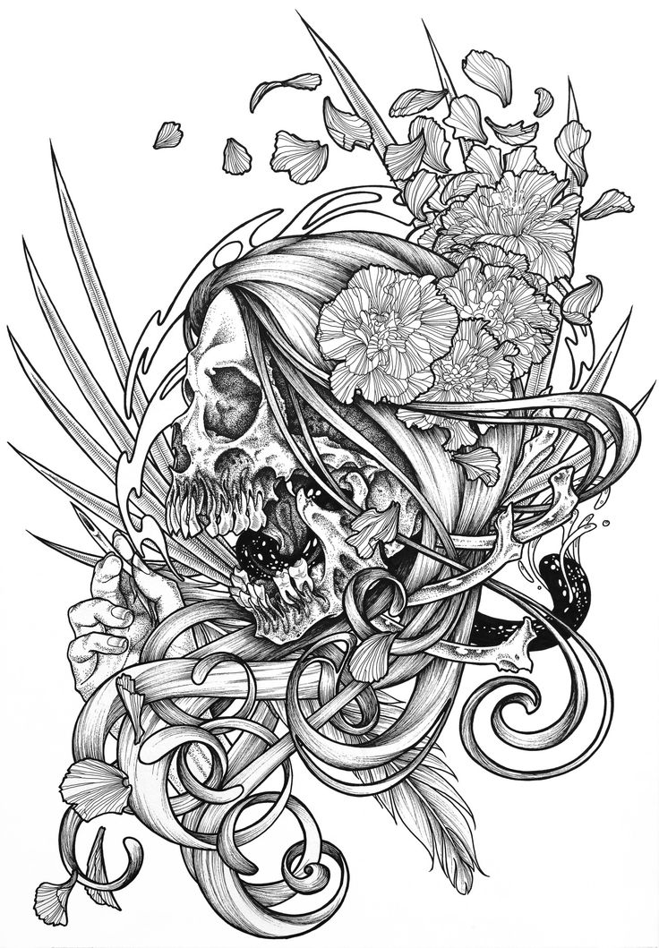 539 best skull images on pinterest skulls tattoo ideas and bones. Black Bedroom Furniture Sets. Home Design Ideas