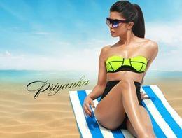 Priyanka Chopra Hot Bikini Wallpapers