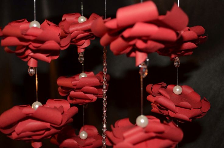 Origami Mobile Delicate indoor decoration❤️