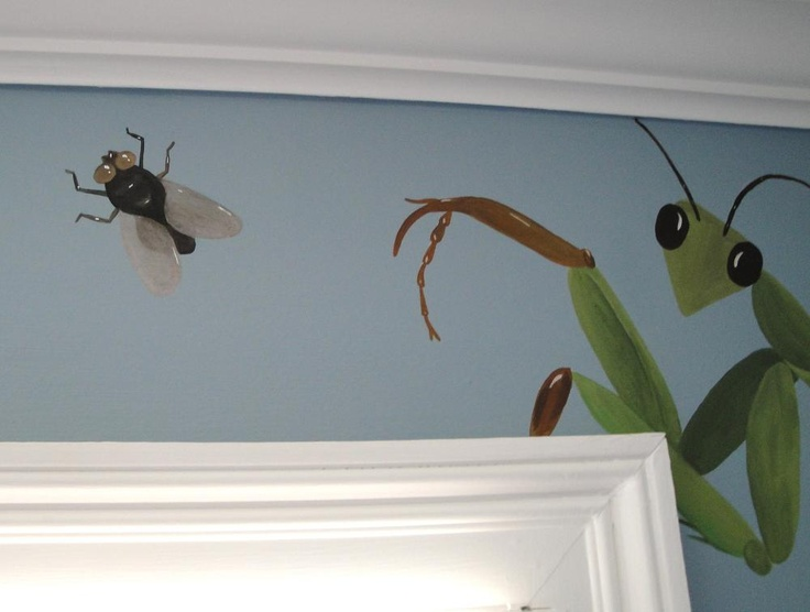 17 best images about kids room stuff on pinterest for Bug themed bedroom ideas