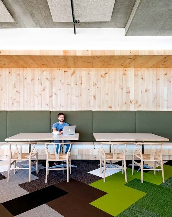 gallery cisco offices studio. cisco offices by studio oa feature wooden meeting pavilions gallery
