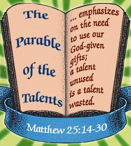 Image result for parable of the talents commentary