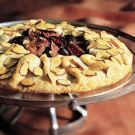 Try the Fig Galette Recipe on Williams-Sonoma.com-Served with a dallop of lightly sweetened cream or marscapone?!