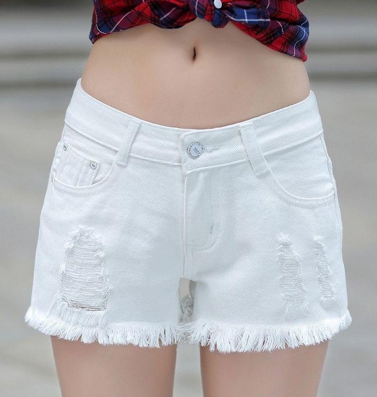 Shorts Jeans Branco Masino