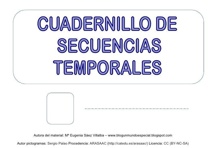 Cuadernillo de Secuencias Temporales