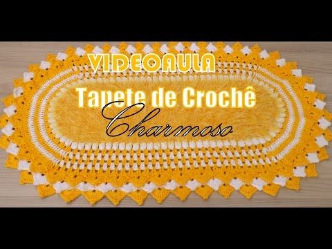 """Tapete Frente de Pia - JOGO DE BANHEIRO PRINCESS 1/3 - """"Neila Dalla Costa"""" - YouTube"""