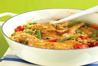 Spicy Coconut Chicken Casserole Recipe | RECIPE CORNER