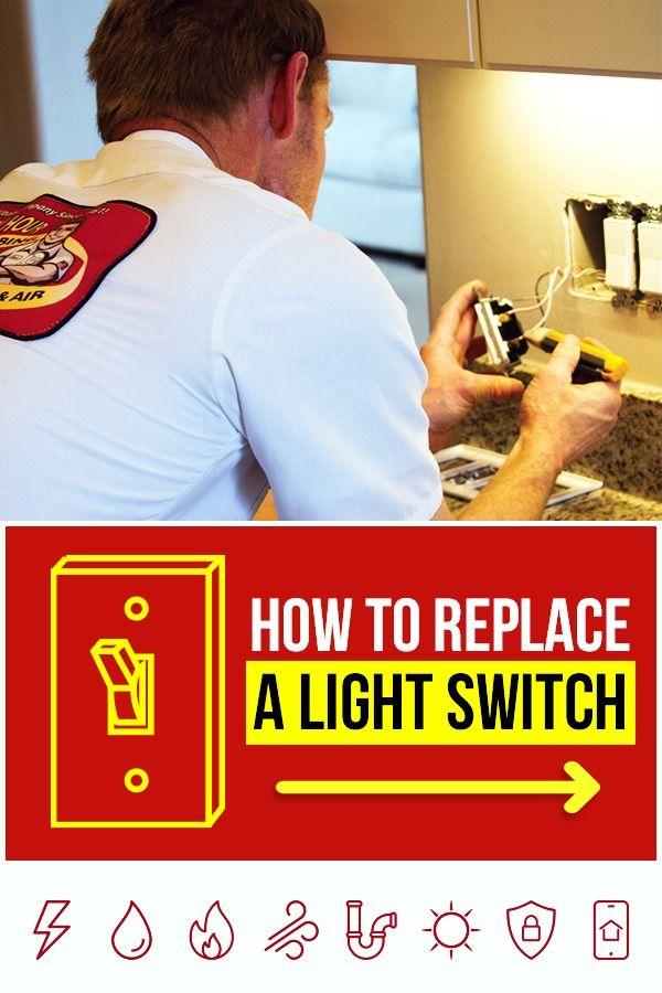 How To Replace A Light Switch Home Repair Home Maintenance Checklist Diy Home Repair