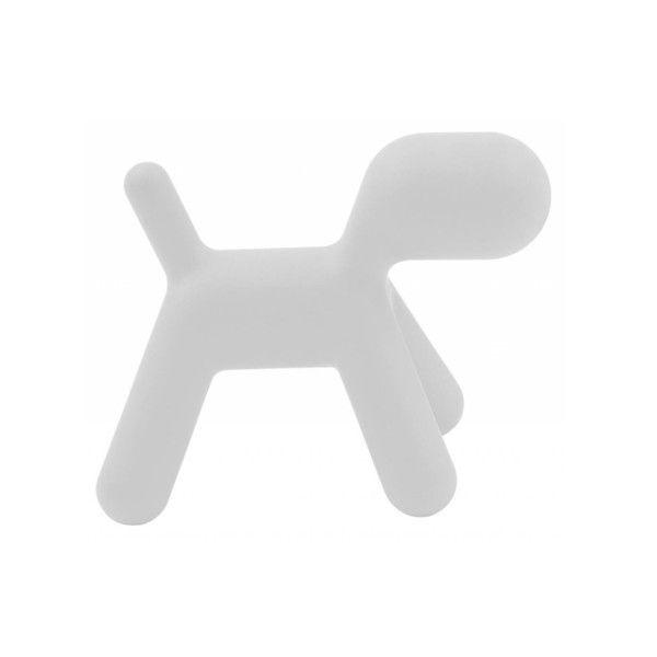 Stolička Puppy bílá, 56 cm | Bonami