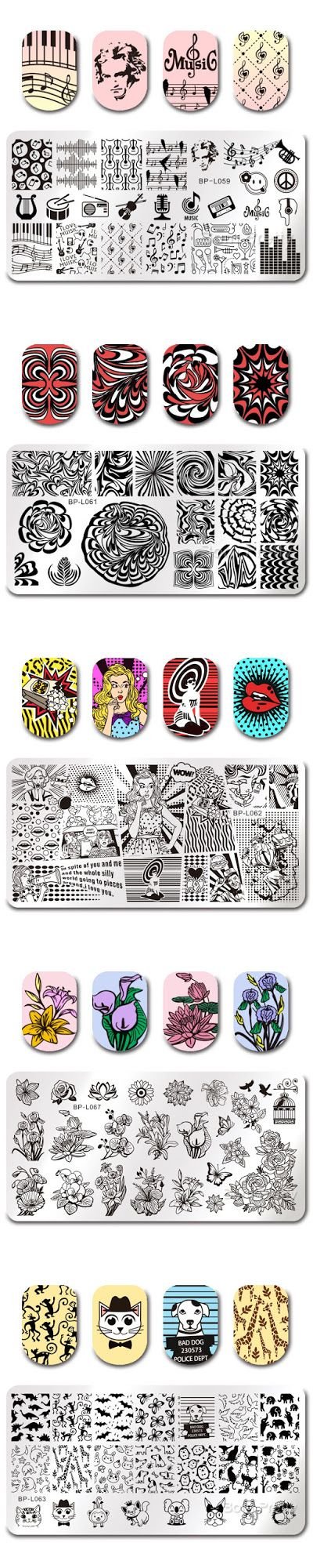 € 0,99 - 1,99 Stickers ( water decals) pour les ongles : http://www.neejolie.fr/Nail-Stickers-c-165.html