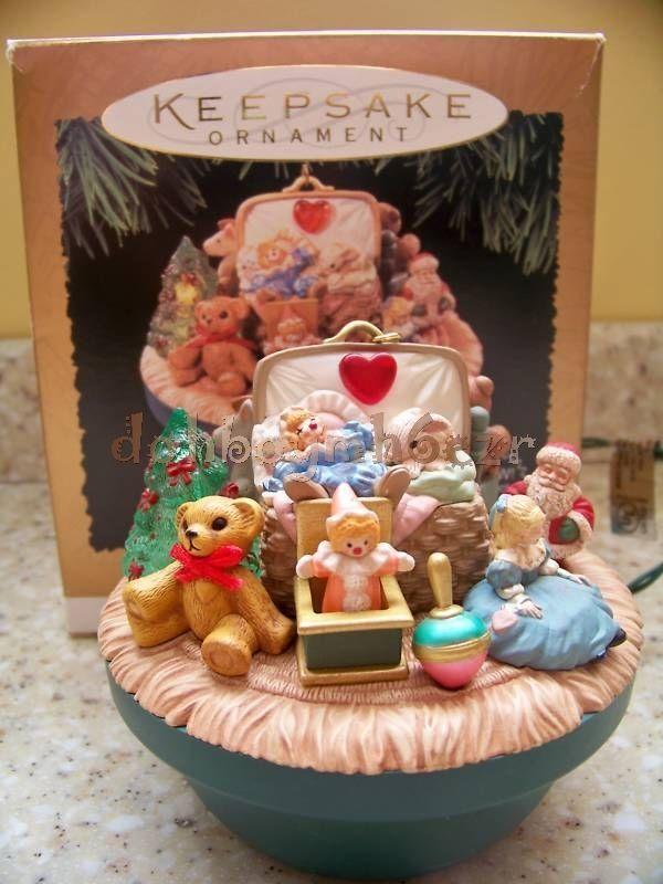 Hallmark 1995 Victorian Toy Box Magic Chrismtas Ornament #Ornament