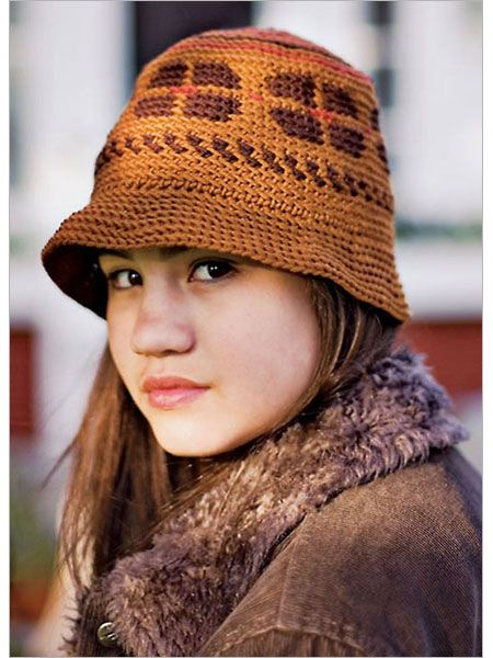 Allspice Hat - Interweave  Pattern, 4.00