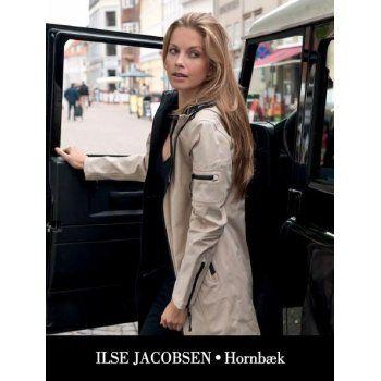 Ilse Jacobsen Sesame Rain07 Waterproof 3/4 Rain Mac