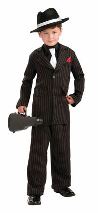 Kids 1920's Gangster Costume - Gangster Costumes