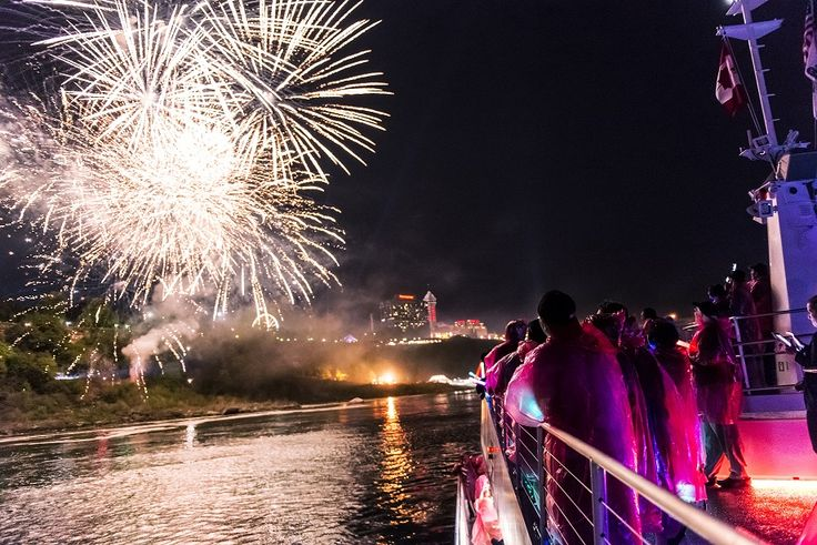 Experience our brand new evening Falls Fireworks Cruise at #niagaracruises  To find out more information on our different cruise experiences visit our blog! http://www.niagaracruises.com/blog