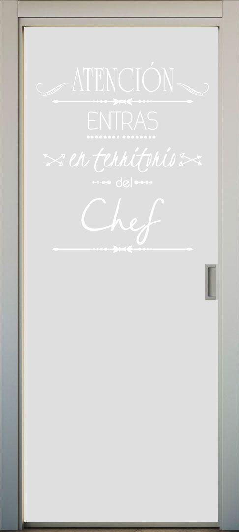 17 mejores im genes sobre vinilos para puertas de cocina - Vinilos cocina cristal ...