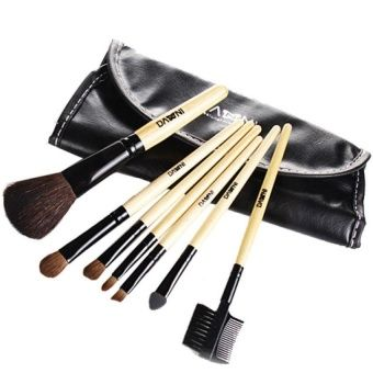 buy byfunme 7 makeup brush set attached brush bags