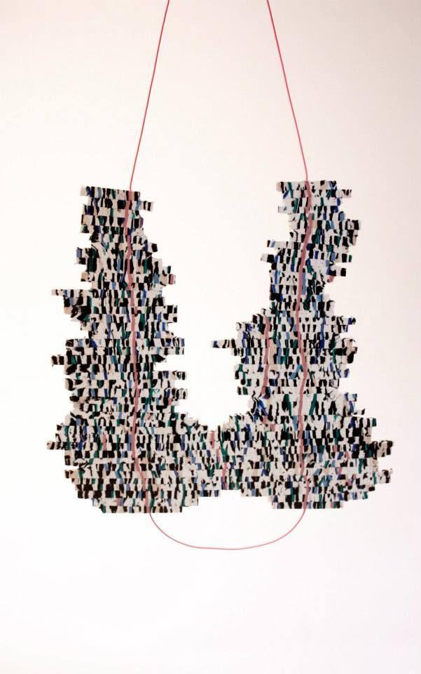 EDELPLAST by .. one of my master students  Billie Van Nieuwenhuyzen - Transforming cable waste into jewellery
