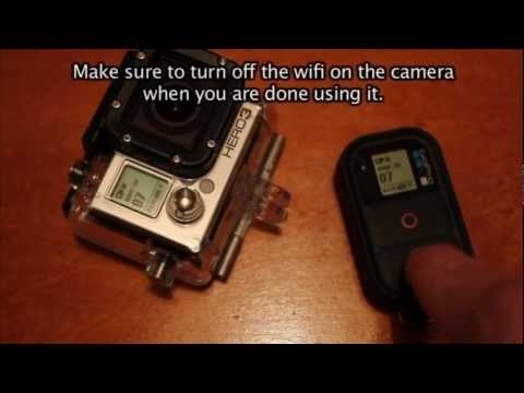 Tip #46 GoPro - How to use Wifi remote with Hero 3