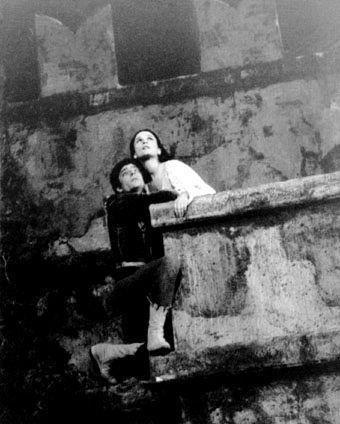 Giulietta e Romeo, anni'50: Anna Maria Guarnieri e ...