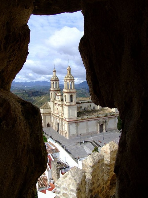 Nuestra Señora de la Encarnación, Olvera, Cadiz, Andalusia, Spain
