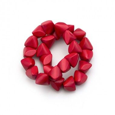 Twisted Cube Bracelet, 2 per tag, red
