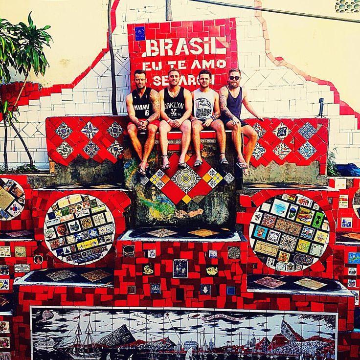 "59 Likes, 1 Comments - James_in_life_photos (@james_spencer_oliver) on Instagram: ""The journey begins Escadaria Selarón steps #brazil #escadariaselaron #lovinglife #southamerica…"""