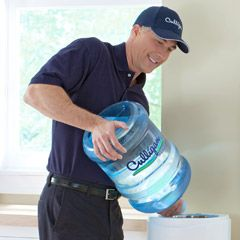 Bottled water delivery for home or office can be scheduled by a Culligan Man that will refill, remove, and recycle your empty bottles.