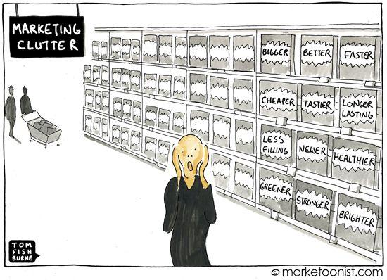 marketing clutter - Tom Fishburne