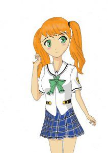 School girl - Manga / Anime Tutorial #manga #anime #tutorials