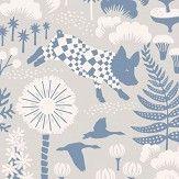 Boråstapeter Hoppmosse Grey Wallpaper