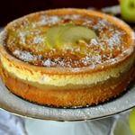 Торт с яблочным пюре