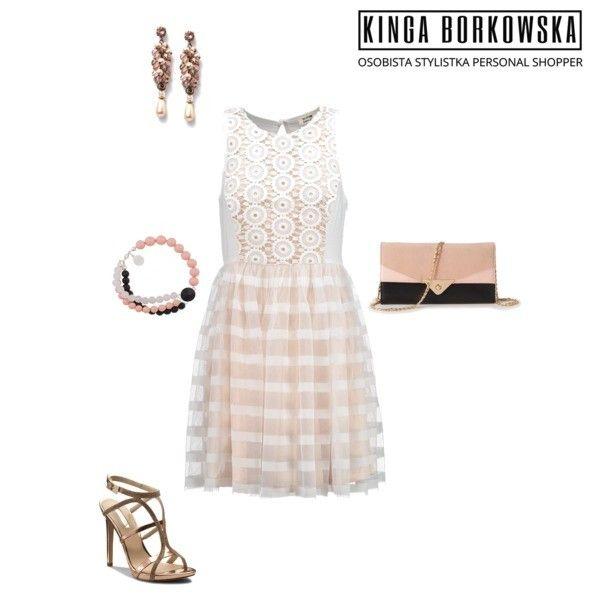"""Sukienka z cyklu """" na wesele"""" idealna dla sylwetki T ( szczupła, ramiona szersze od bioder, zgrabne nogi)"""