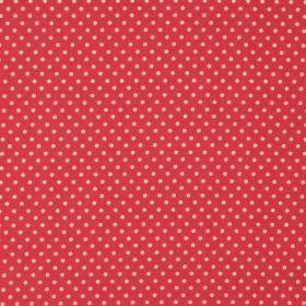 Puncte mijlocii albe pe fond fucsia - Materiale textile online