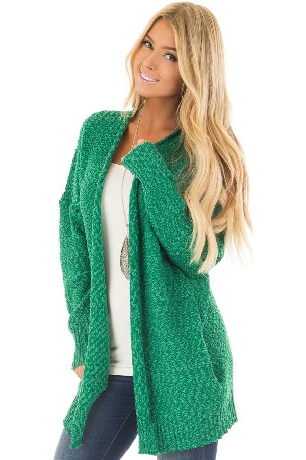 ab9e73a7b38e Lime Lush Boutique - Kelly Green Cardigan with Hidden Pockets, $42.99  (https:/