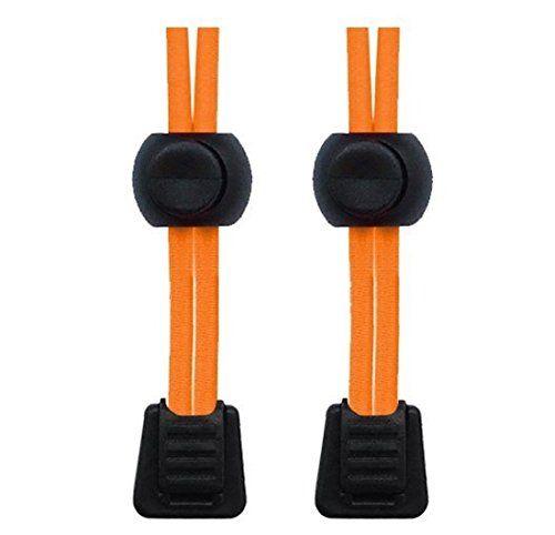 Packung elastische Schnürsenkel mit Schnellverschluss, für Laufen/Triathlon neon-orange - http://on-line-kaufen.de/neo-15/neon-orange-packung-elastische-schnuersenkel