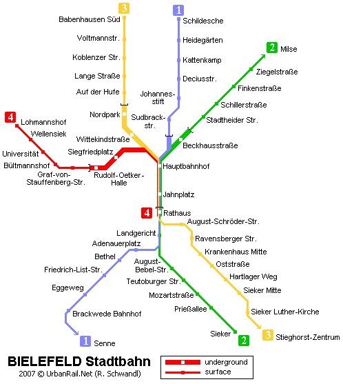 Bielefeld Stadtbahn