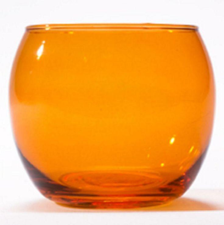 Coloured Glass Tealight Holders