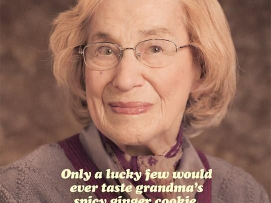 Crosby's:  Grandma's Spicy Ginger Cookie
