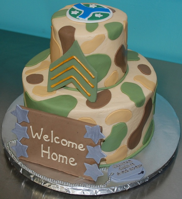 116 best images about military welcome home party on for Military welcome home party decorations