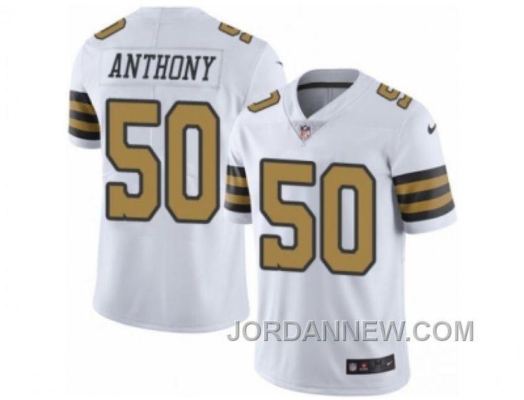 http://www.jordannew.com/mens-nike-new-orleans-saints-50-stephone-anthony-elite-white-rush-nfl-jersey-for-sale.html MEN'S NIKE NEW ORLEANS SAINTS #50 STEPHONE ANTHONY ELITE WHITE RUSH NFL JERSEY FOR SALE Only 21.74€ , Free Shipping!