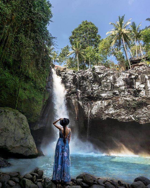 Air Terjun Tegenungan Merupakan Salah Satu Tempat Wisata Alam Yang Populer Di Bali Air Terjun Ini Berada Di Kawasan Sukawati Gianyar Waterfall Water Outdoor