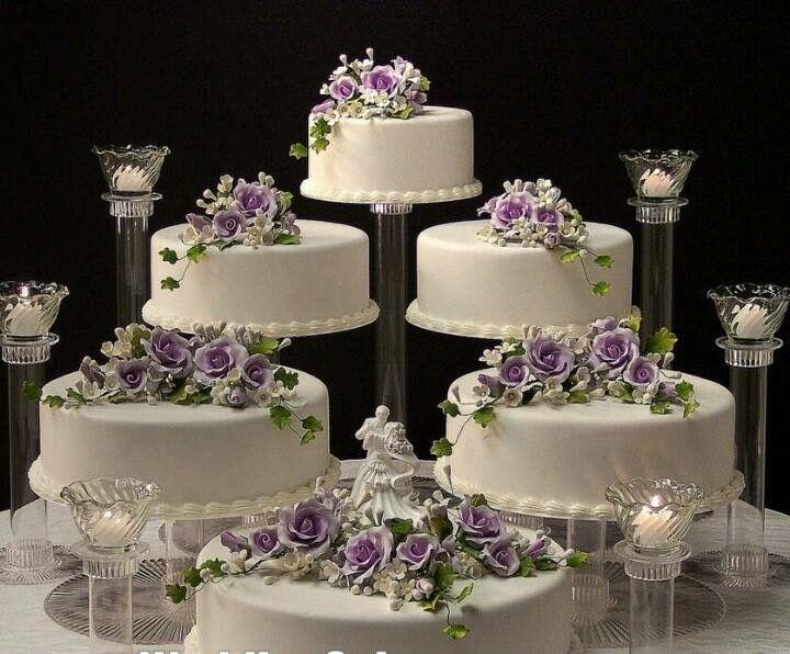 Pinterest Wedding Cakes: 29 Best Separate Tier Wedding Cake Ideas Images On